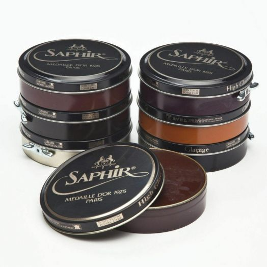 Saphir Medaille D'Or Pate De Luxe Wax Polish 100ml All Colours[Mahogany 09]